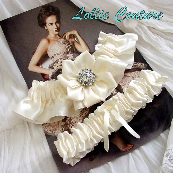 Crochet Wedding Garter: Garters, Garter Sets, Wedding, Wedding Garters, Bridal